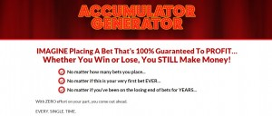 Accumulator Generator Football Betting System That Works Direct Link