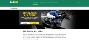 bet365 ITV Horse Racing Offer